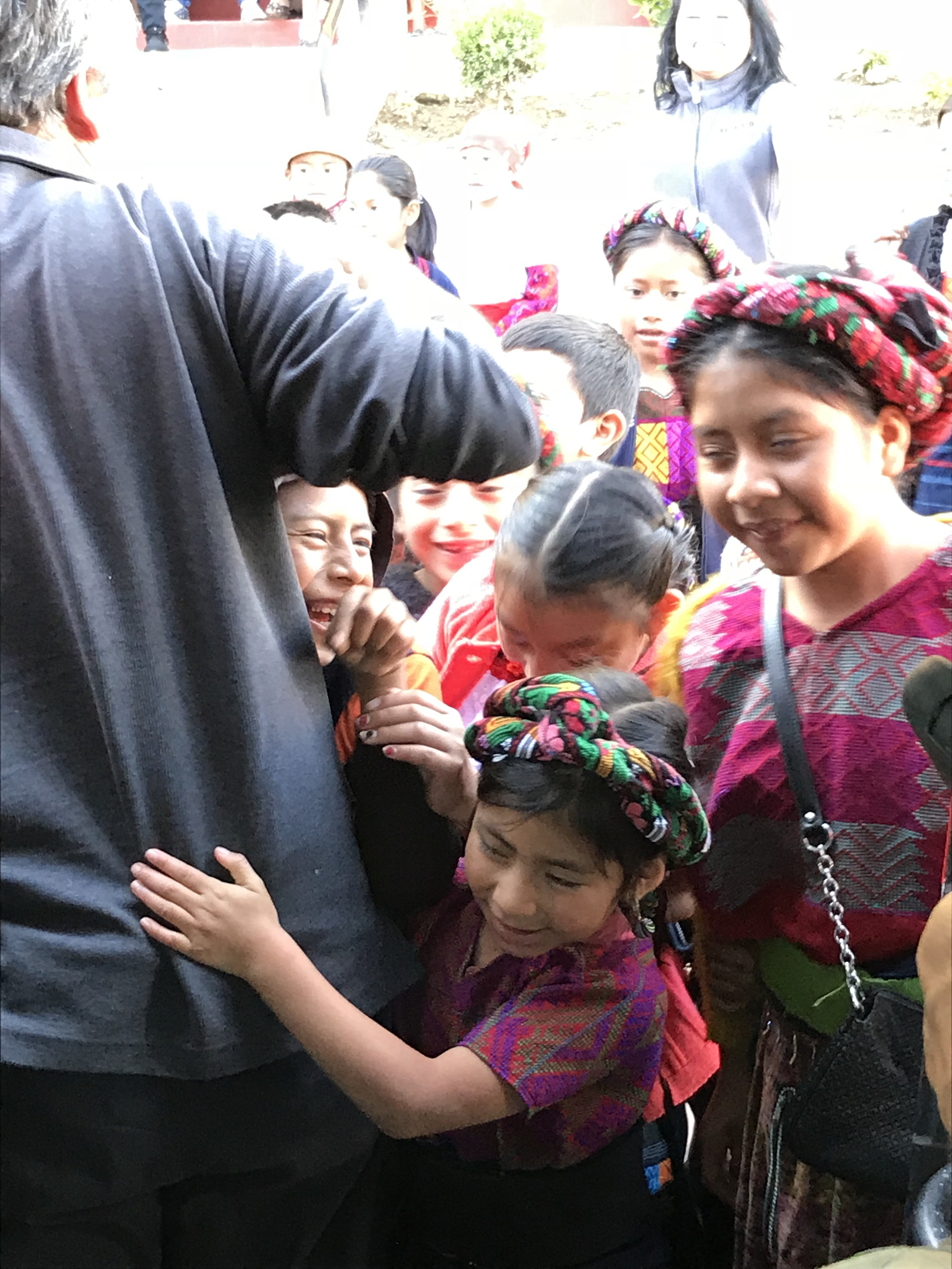 We received such love and affection from the children and staff at Xela Aid.