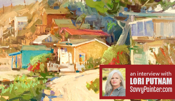 Savvy Painter, Blog Talk Radiowith Antrese WoodApril 2015 - Crystal Cottages, 16x20