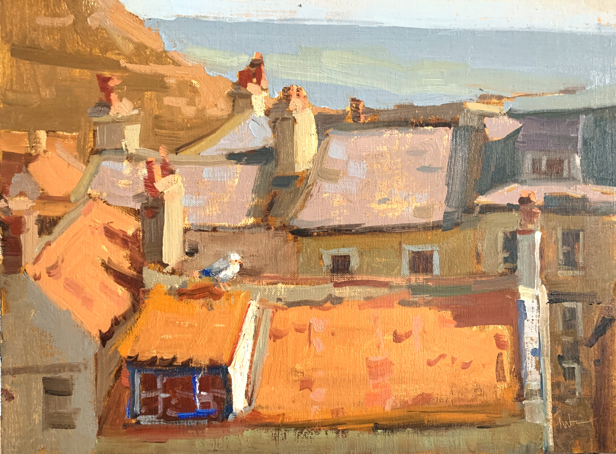 Rooftops of Staithes