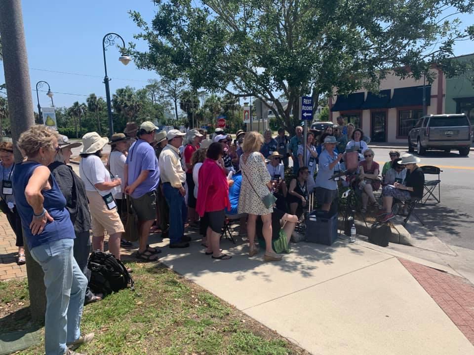 My demonstration on Reid Ave. in Port St. Joe, FL.