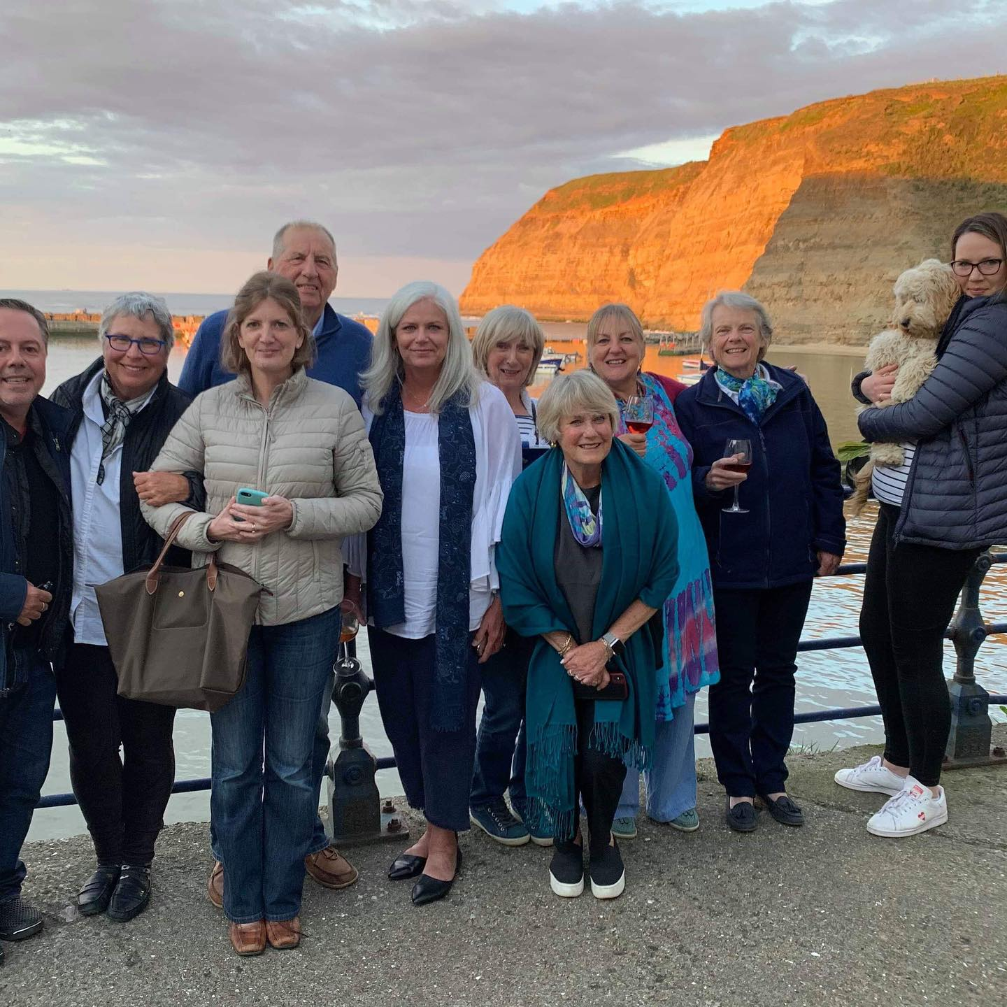Beautiful Staithes! Thank you students and Symi.