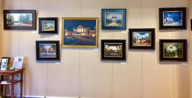 GWC&TA Lobby Art Gallery