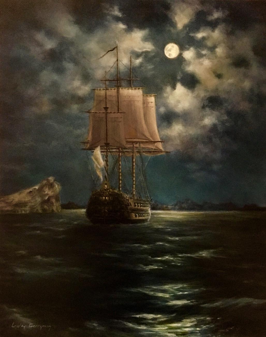 The 'Hero' Returns on a Moonlit Night