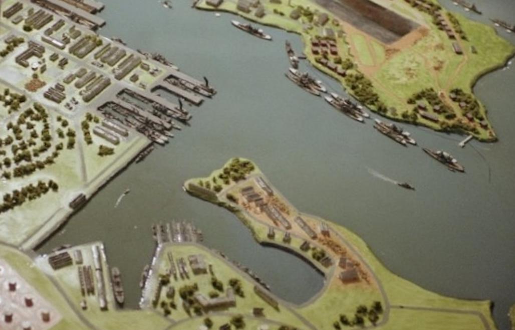 Pearl Harbor (Dec 7, 1941) (1-2400 scale )