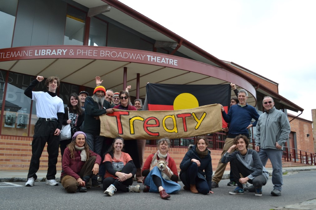 Treaty gathering in Castlemaine  Photo: Castlemaine Mail