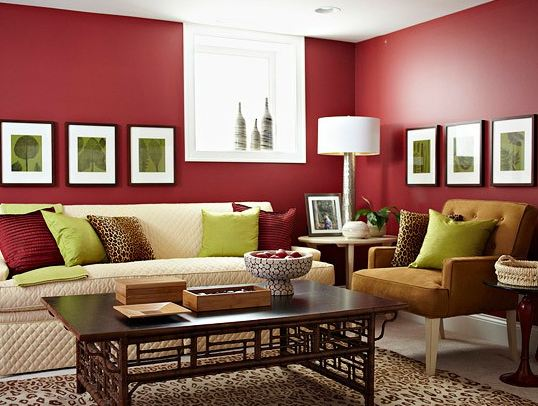 Red Room Colours