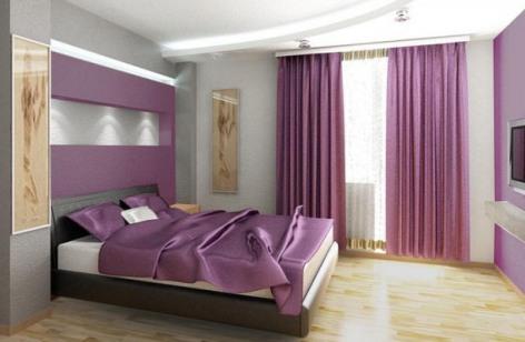 Purple Room Colours