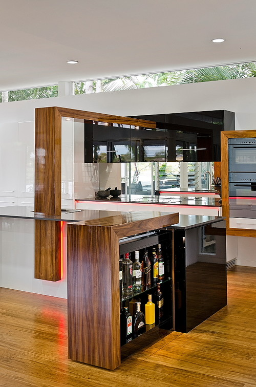 Floating Kitchen Ceiling