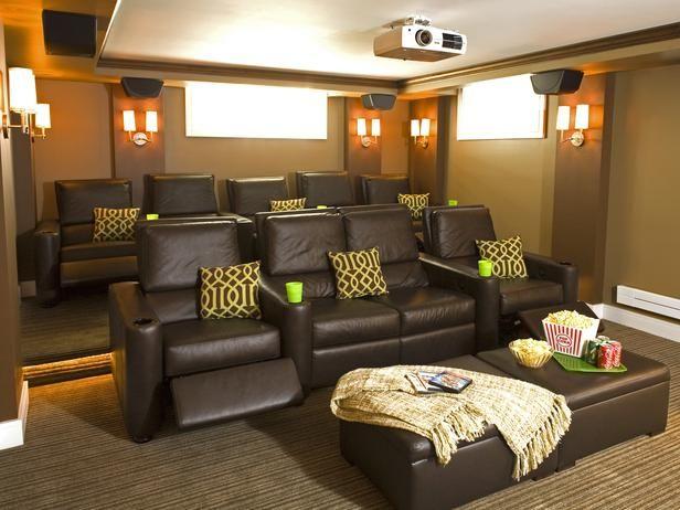 cinema style seating