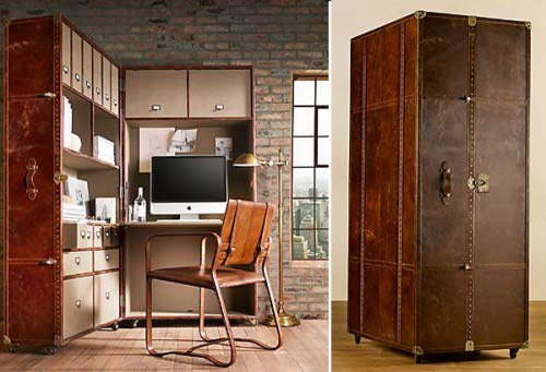 collapsible home office