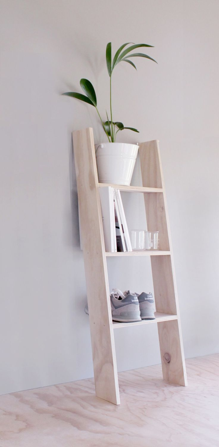 RenoGuide Ladder Shelving