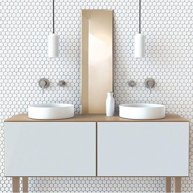 RenoGuide Hexagonal Mosaic Tiles