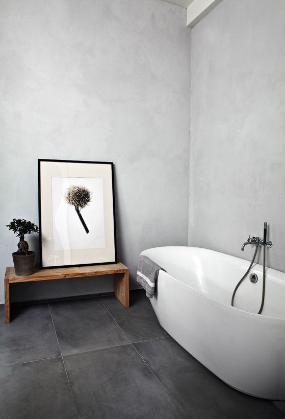 RenoGuide Grey Bathroom Tiles