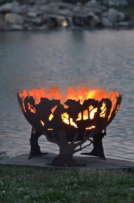 Forest feature Fire Pit