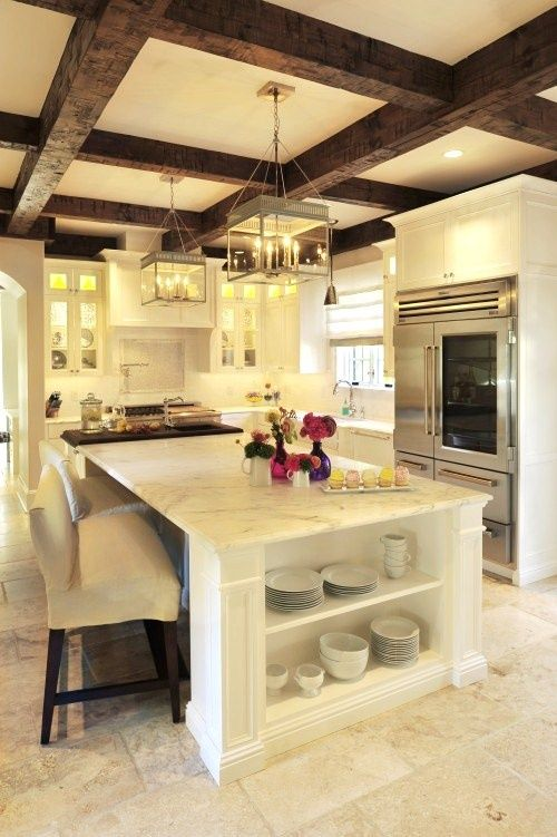 rustic country style kitchen