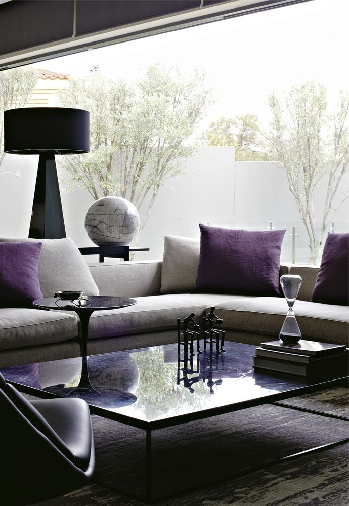 capricious and regal living room design