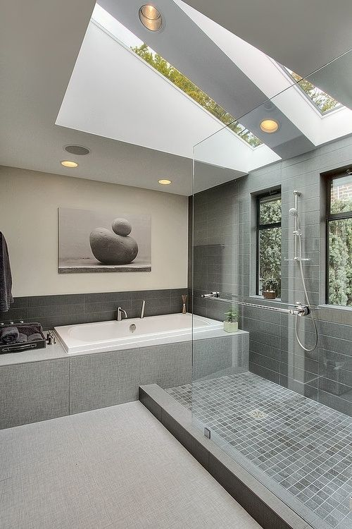 well-lighted bathroom