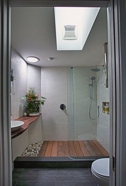 Zen garden bathroom