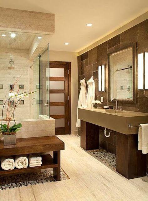modern zen bathroom design