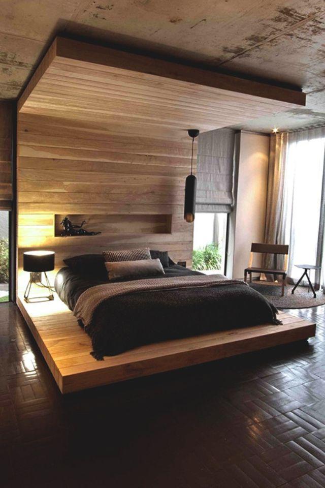 elevated bed frame