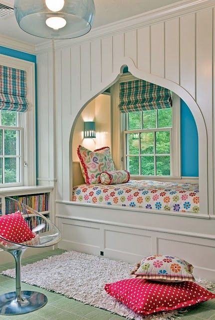 charming window bed
