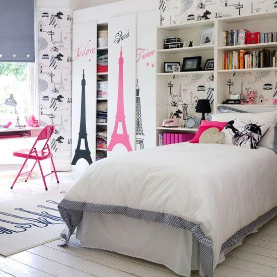 young Parisian bedroom