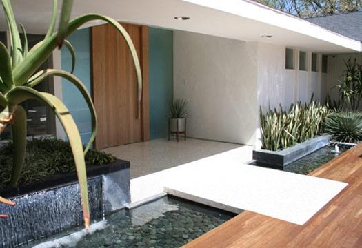 modern Zen frontage