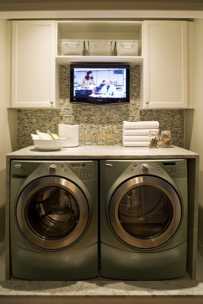 small space laundry idea