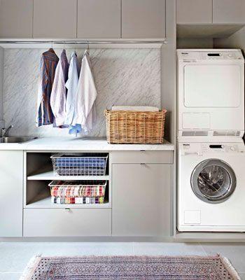 space efficient laundry