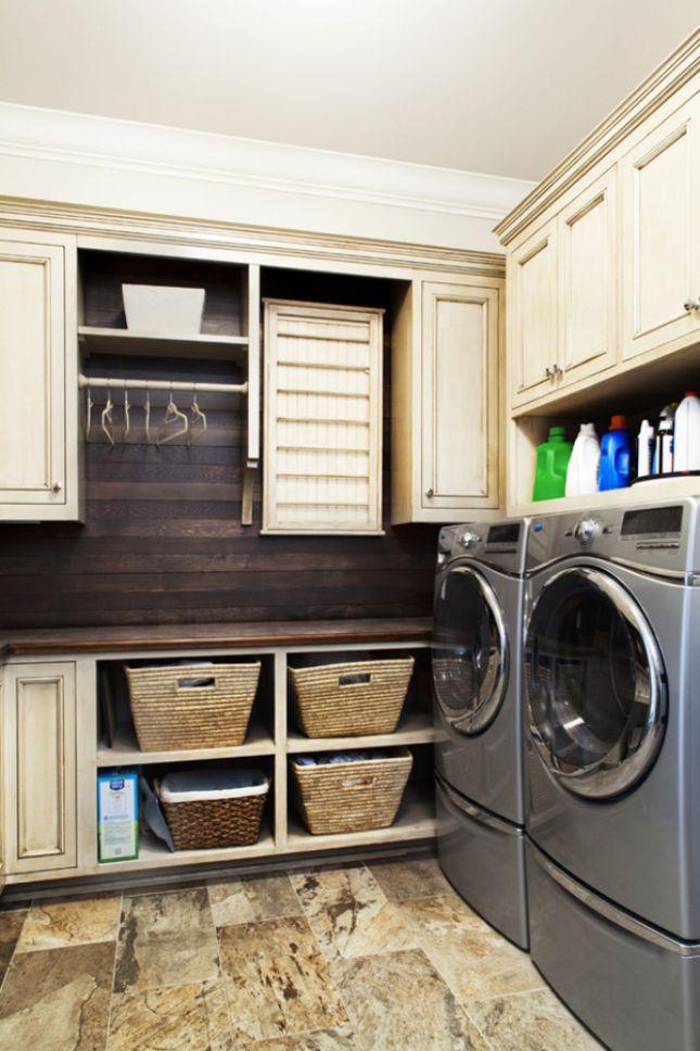 efficient laundry corner