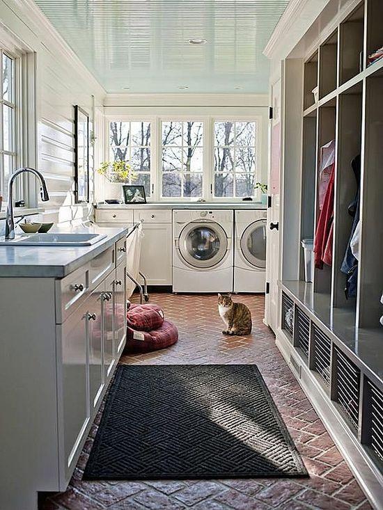 upscale laundry room