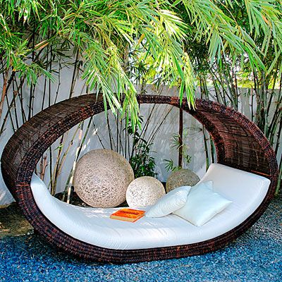 fancy wicker garden furniture