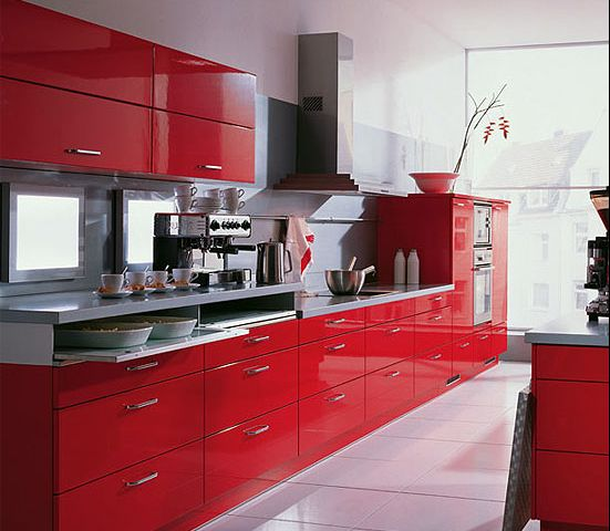Red Kitchens With White Cabinets: 40 Ingenious Kitchen Cabinetry Ideas And Designs