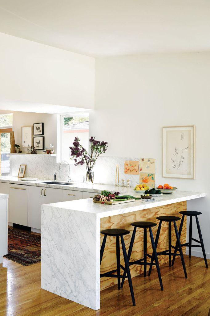 Carrera Marble Vs White Granite The Surface Debate Renoguide Australian Renovation Ideas And Inspiration