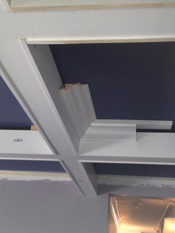 Diy Coffered Ceiling Project
