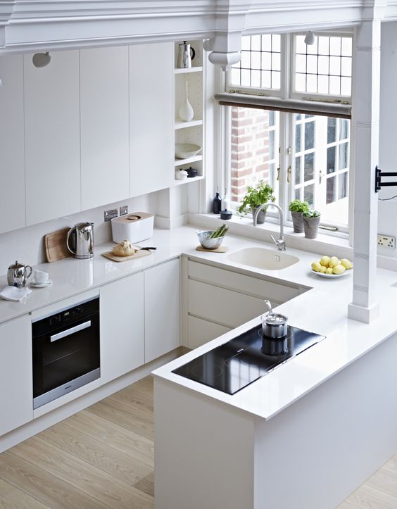 small space apartment kitchen