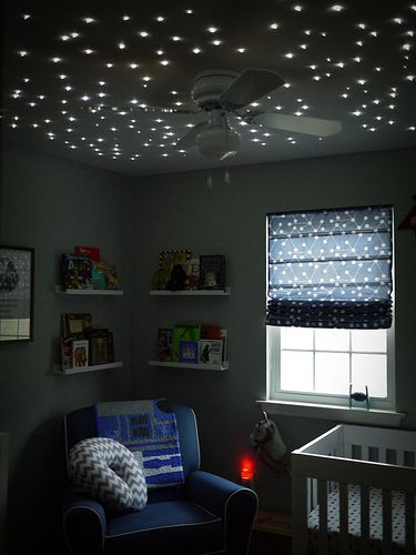 lighted ceilings for nursery rooms