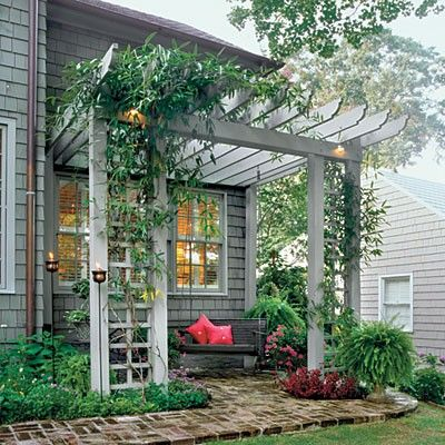 cosy patio pergola