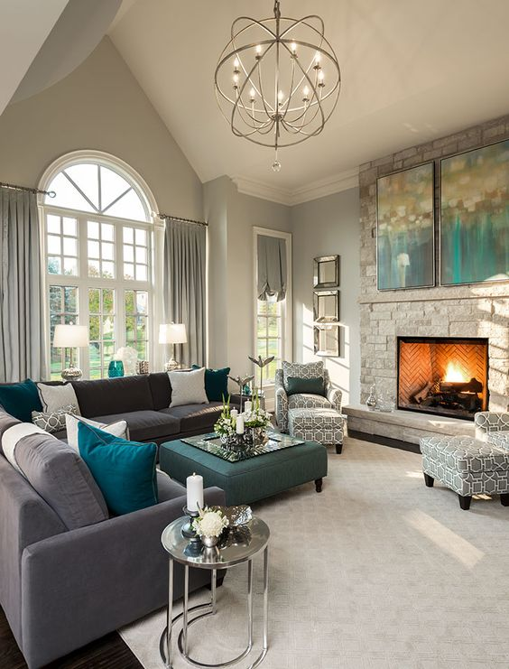 grand manor living room