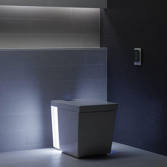modern angular toilet