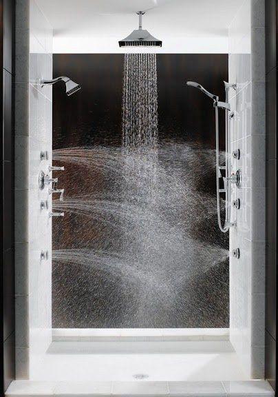 multi-directional shower