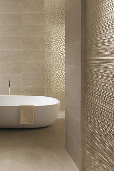 beige monochromatic bathroom