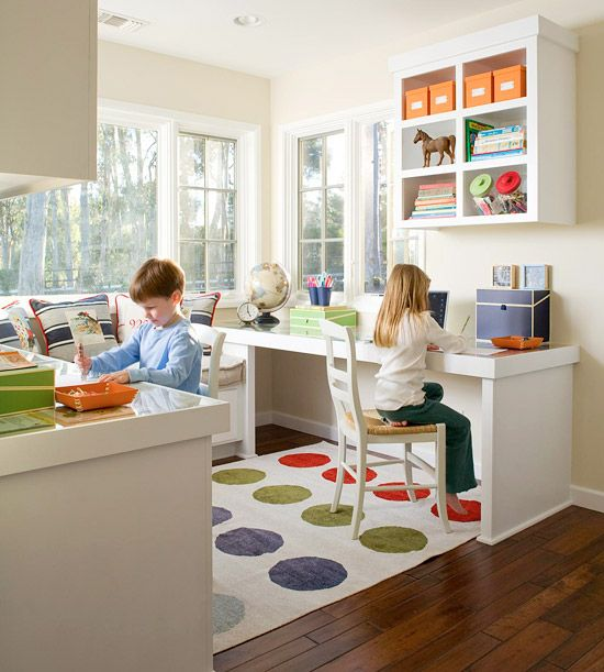 modern child friendly home office