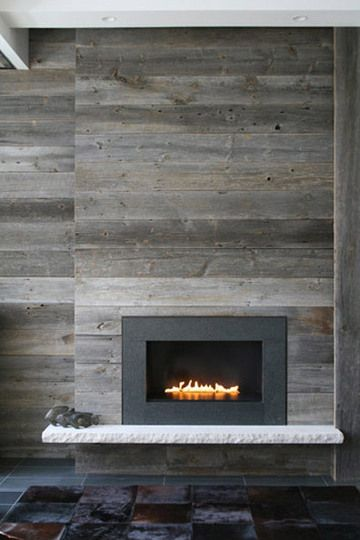 weathered wood wall panels