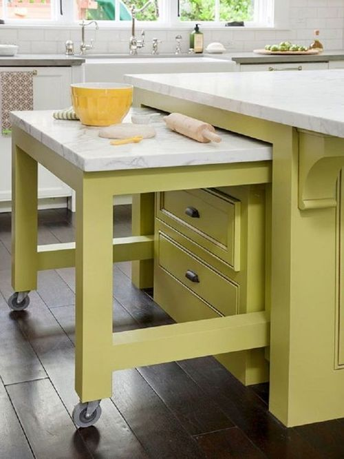 Functional And Inspired Kitchen Island