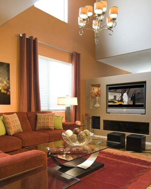 30 Elegant Living Room Colour Schemes — RenoGuide ...