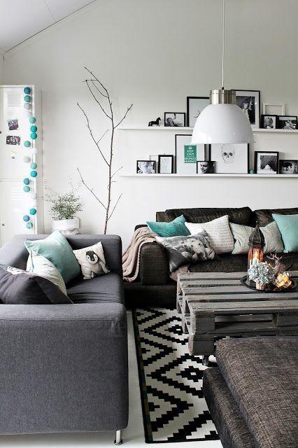 rustic SOHO living room