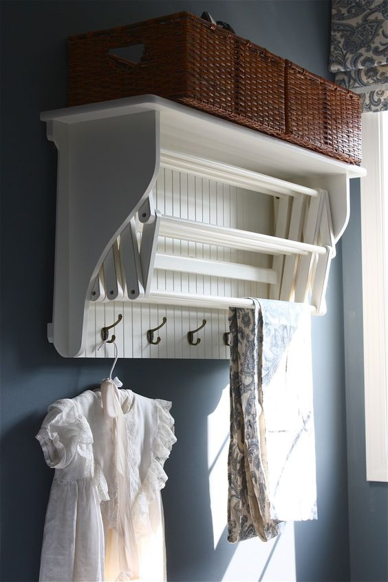accordion laundry drying rack