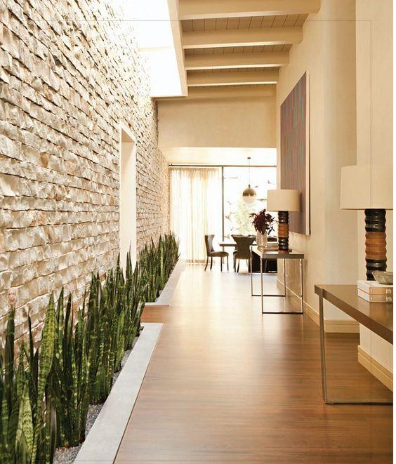 modern brick wall