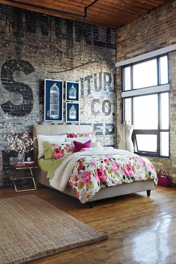 Soho city apartment bedroom